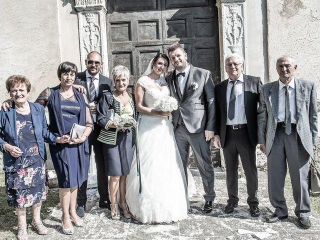 Il matrimonio di Emanuele e Elena a Borgosatollo, Brescia 151