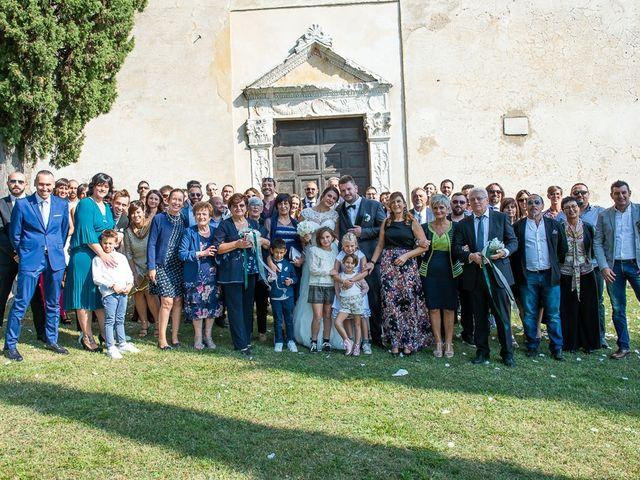 Il matrimonio di Emanuele e Elena a Borgosatollo, Brescia 152