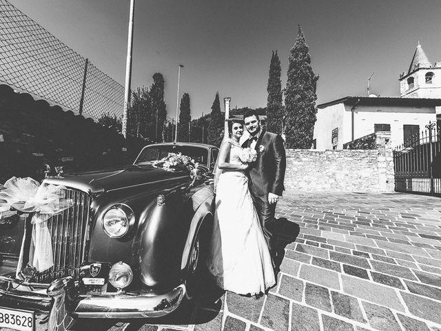 Il matrimonio di Emanuele e Elena a Borgosatollo, Brescia 158