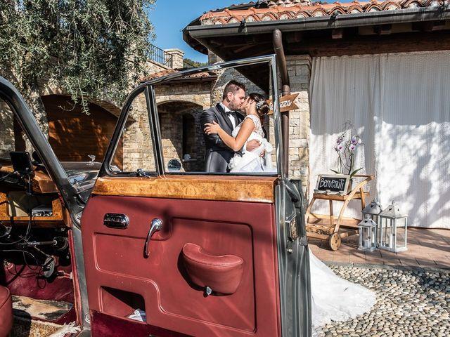 Il matrimonio di Emanuele e Elena a Borgosatollo, Brescia 163
