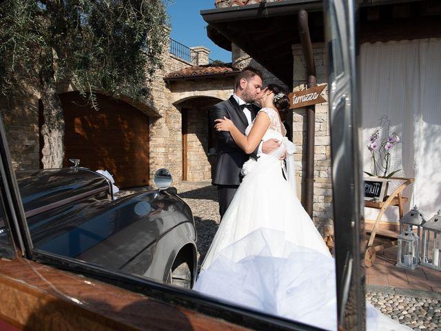 Il matrimonio di Emanuele e Elena a Borgosatollo, Brescia 192