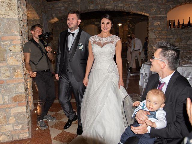 Il matrimonio di Emanuele e Elena a Borgosatollo, Brescia 167