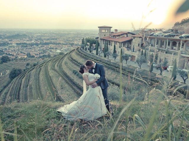 Il matrimonio di Emanuele e Elena a Borgosatollo, Brescia 213