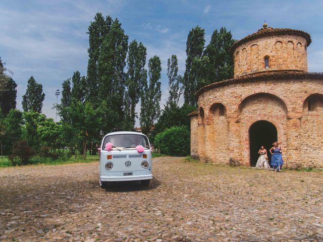 Il matrimonio di Giuseppe e Katia a Castell'Arquato, Piacenza 15