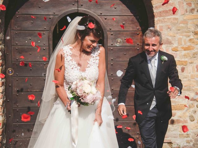 Il matrimonio di Giuseppe e Katia a Castell'Arquato, Piacenza 20