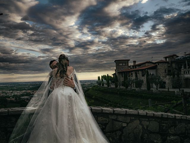 Il matrimonio di Francesco e Eva a Gussago, Brescia 154