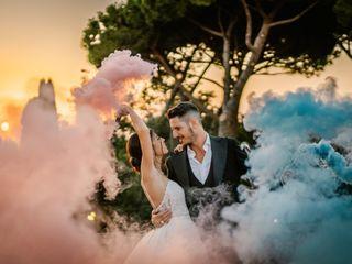 Le nozze di Stefano e Luciana
