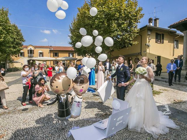 Il matrimonio di Alessandro e Sara a Varese, Varese 25