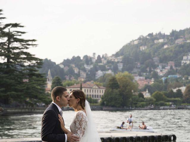 Il matrimonio di Alberto e Martina a Como, Como 58