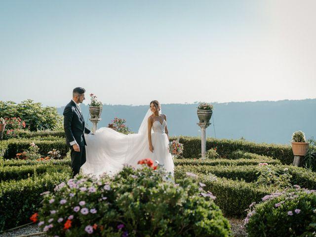 Il matrimonio di Luciana e Stefano a Ariccia, Roma 78