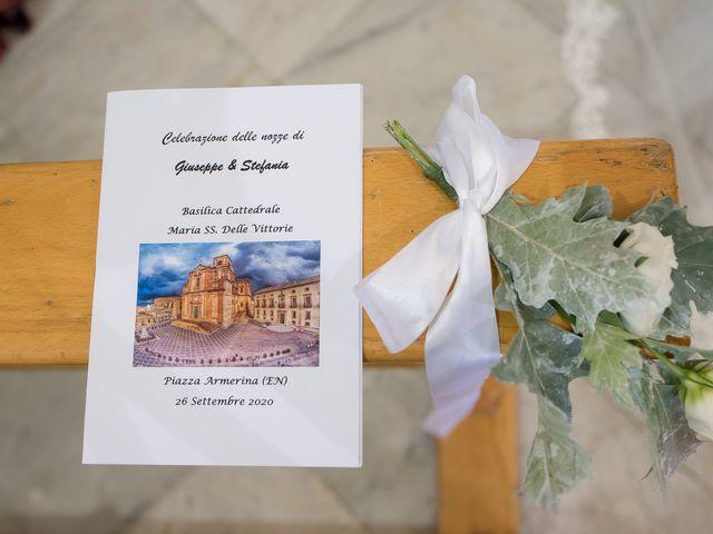 Il matrimonio di Giuseppe e Stefania a Piazza Armerina, Enna 21