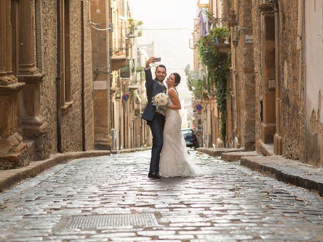 Il matrimonio di Giuseppe e Stefania a Piazza Armerina, Enna 32