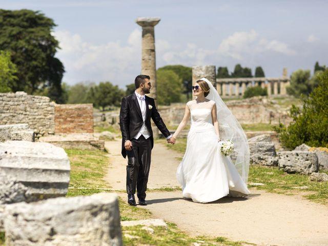 Il matrimonio di Vincenzo e Mariangela a Aquara, Salerno 1