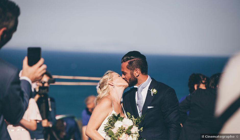 Il matrimonio di Walter e Jodie a Sabaudia, Latina