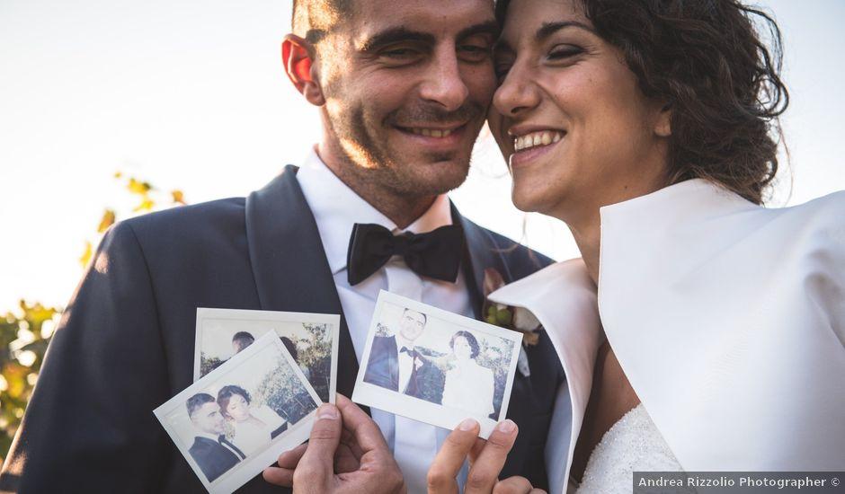 Il matrimonio di Andrea e Sara a Cortazzone, Asti