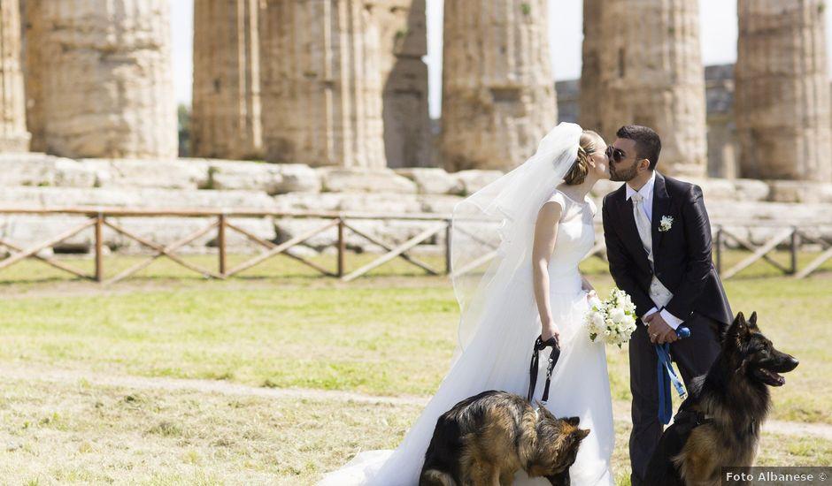 Il matrimonio di Vincenzo e Mariangela a Aquara, Salerno