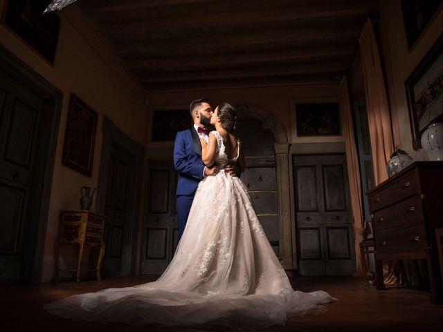 le nozze di Gabriela e Gaetano