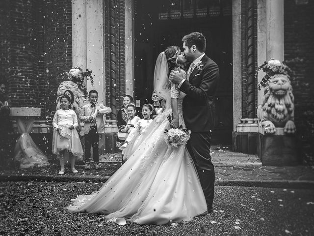 le nozze di Paola e Alessandro