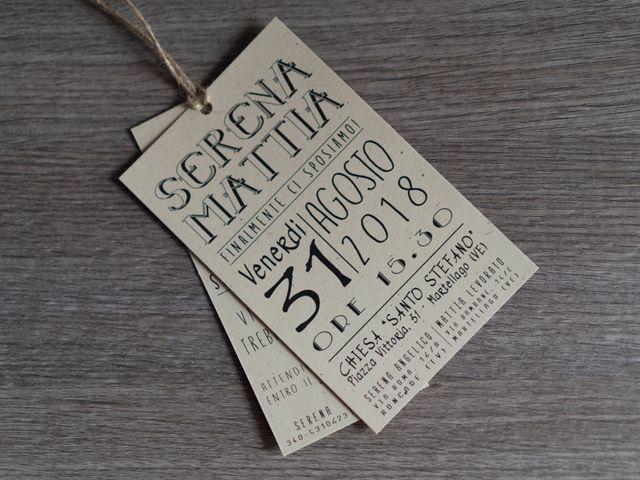 Il matrimonio di Mattia e Serena a Martellago, Venezia 2