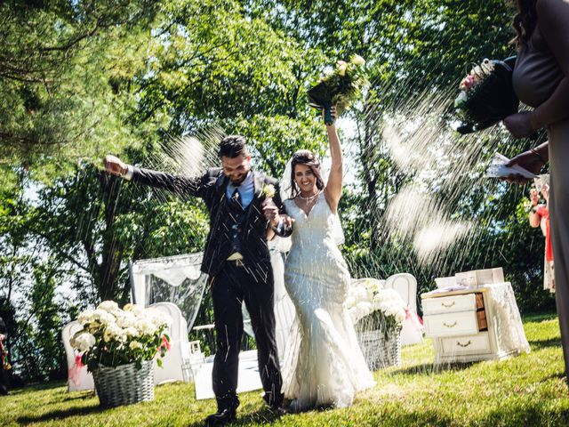 Il matrimonio di Gianluca e Stefania a Villarbasse, Torino 21