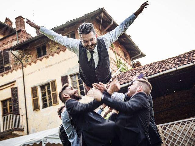Il matrimonio di Gianluca e Stefania a Villarbasse, Torino 34