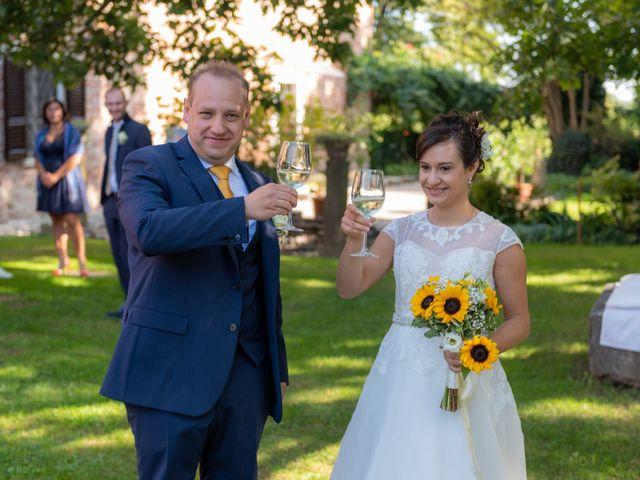 Il matrimonio di Andrea e Fiammetta a Azzanello, Cremona 14