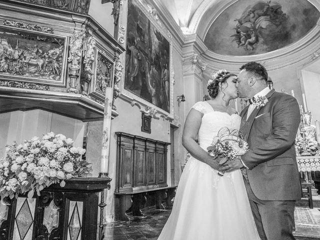 Il matrimonio di Alan e Paola a Barni, Como 15