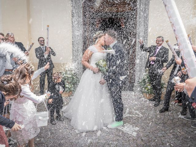 Il matrimonio di Alan e Paola a Barni, Como 17