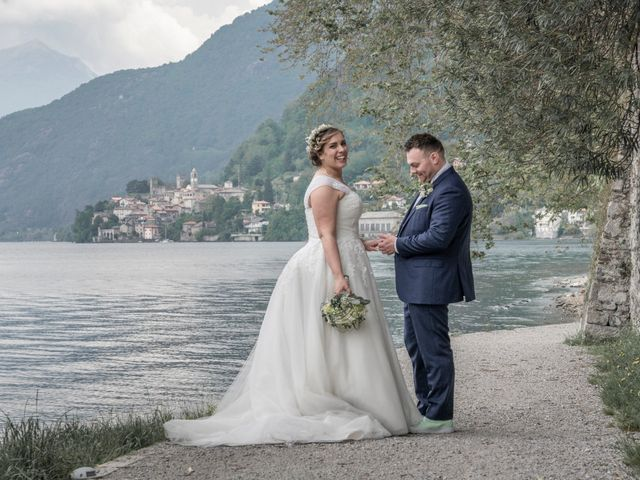 Il matrimonio di Alan e Paola a Barni, Como 20