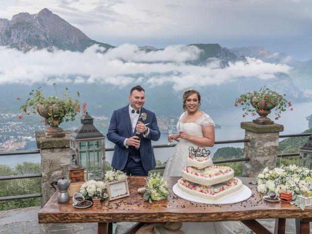 Il matrimonio di Alan e Paola a Barni, Como 31