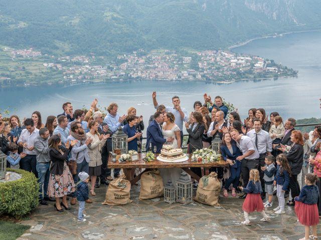Il matrimonio di Alan e Paola a Barni, Como 33