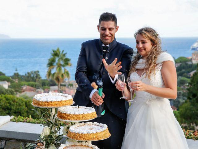 Il matrimonio di Lorenzo e Francesca a Rapallo, Genova 24