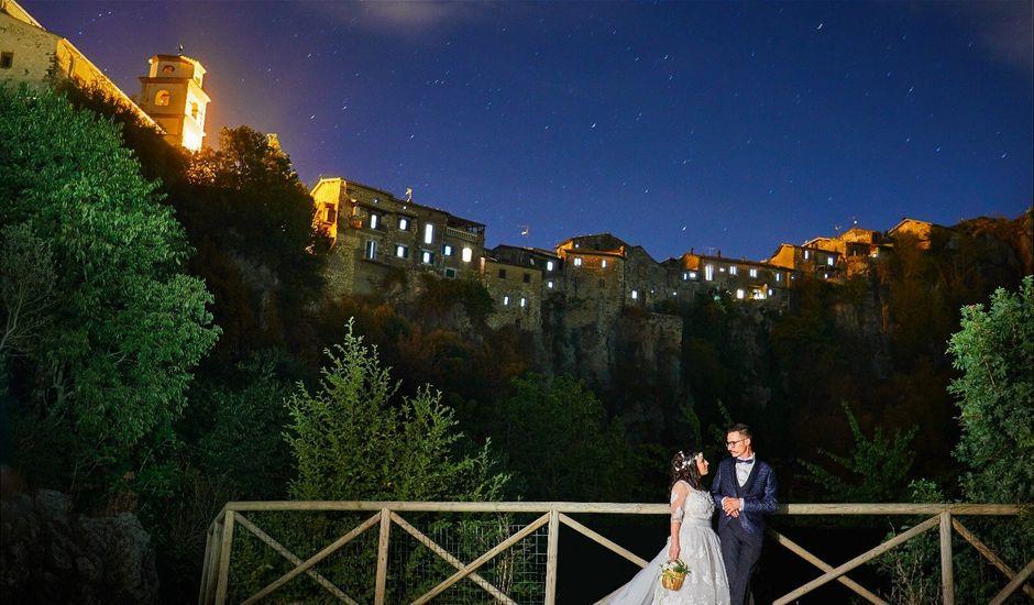 Il matrimonio di Alessandro e Ramona a Artena, Roma