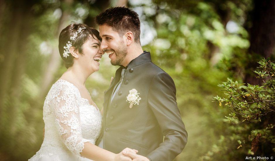 Il matrimonio di Matteo e Francesca a Grandate, Como