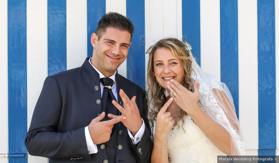 Il matrimonio di Lorenzo e Francesca a Rapallo, Genova