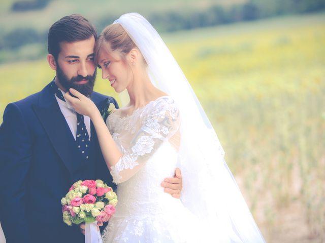 le nozze di Chiara e Moreno