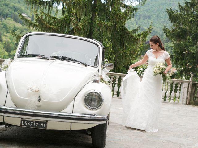 Il matrimonio di Luca e Sandra a Albiolo, Como 18