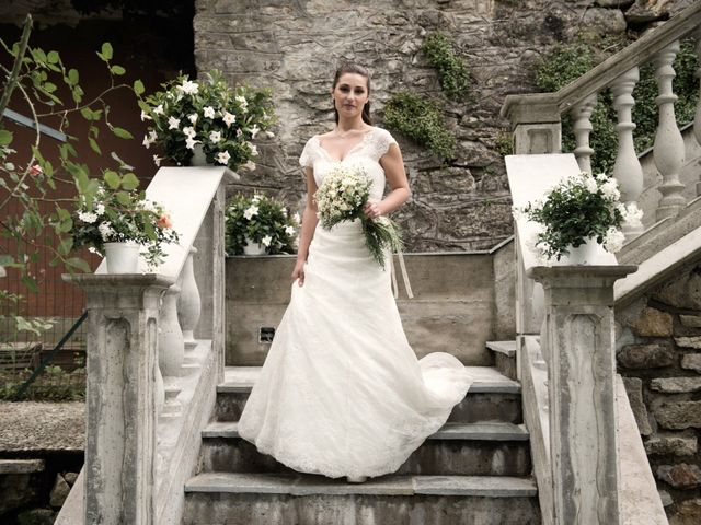 Il matrimonio di Luca e Sandra a Albiolo, Como 20