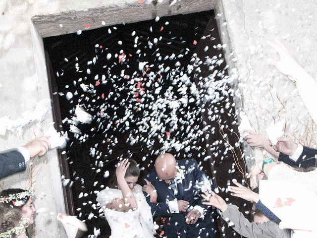 Il matrimonio di Luca e Sandra a Albiolo, Como 1