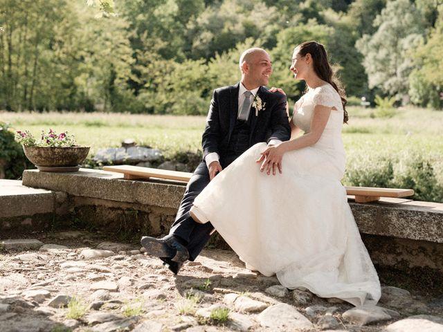 Il matrimonio di Luca e Sandra a Albiolo, Como 38