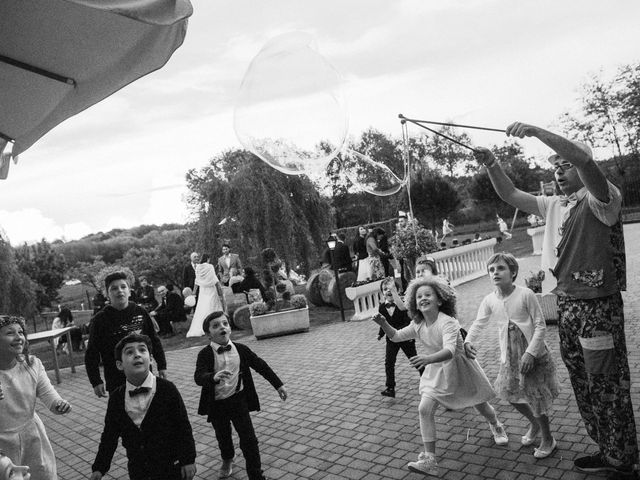 Il matrimonio di Luca e Sandra a Albiolo, Como 45