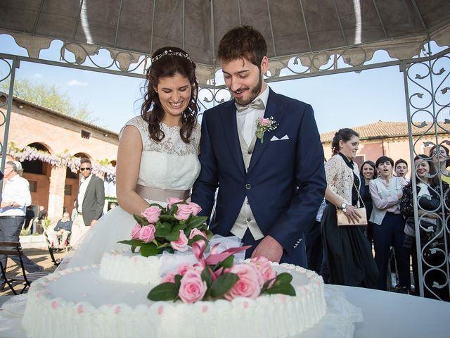Il matrimonio di Francesco e Francesca a Formigine, Modena 96