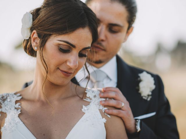 Le nozze di Imma e Mauro