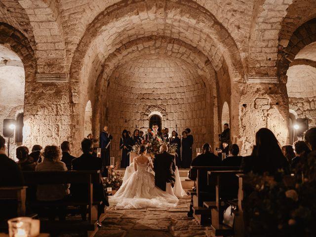 Il matrimonio di Domenico e Katia a Tuscania, Viterbo 45