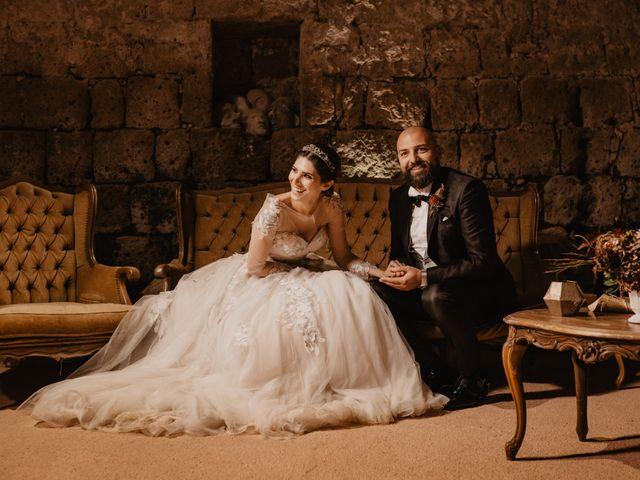 Il matrimonio di Domenico e Katia a Tuscania, Viterbo 51