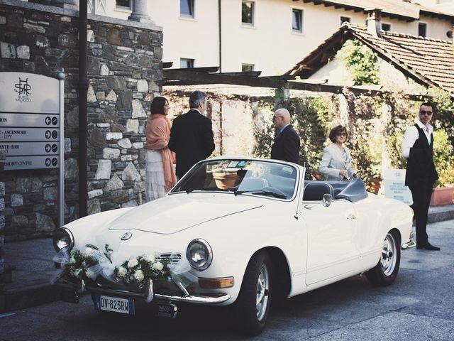Il matrimonio di Günther e Michela a Orta San Giulio, Novara 27