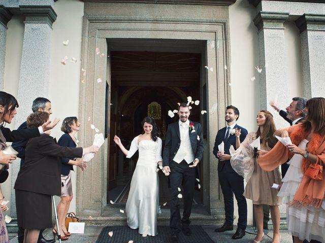 Il matrimonio di Günther e Michela a Orta San Giulio, Novara 49