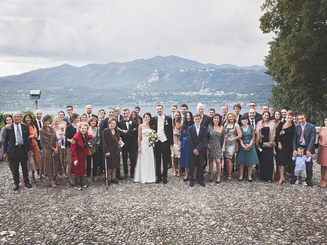 Il matrimonio di Günther e Michela a Orta San Giulio, Novara 54