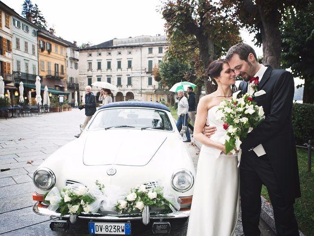 Il matrimonio di Günther e Michela a Orta San Giulio, Novara 58