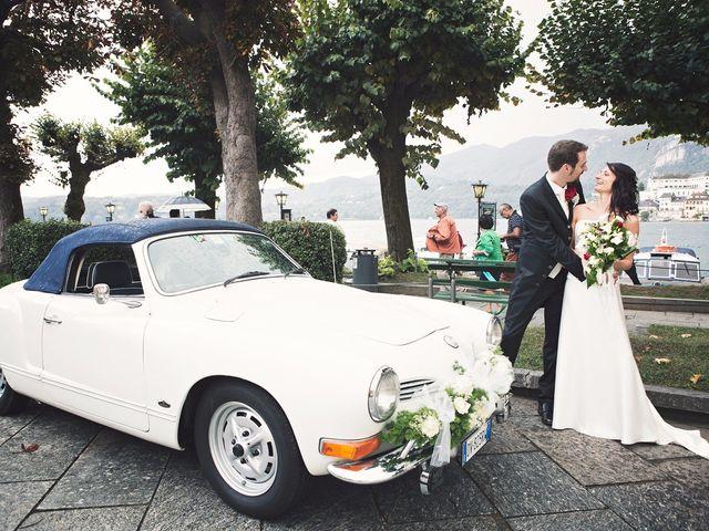 Il matrimonio di Günther e Michela a Orta San Giulio, Novara 60